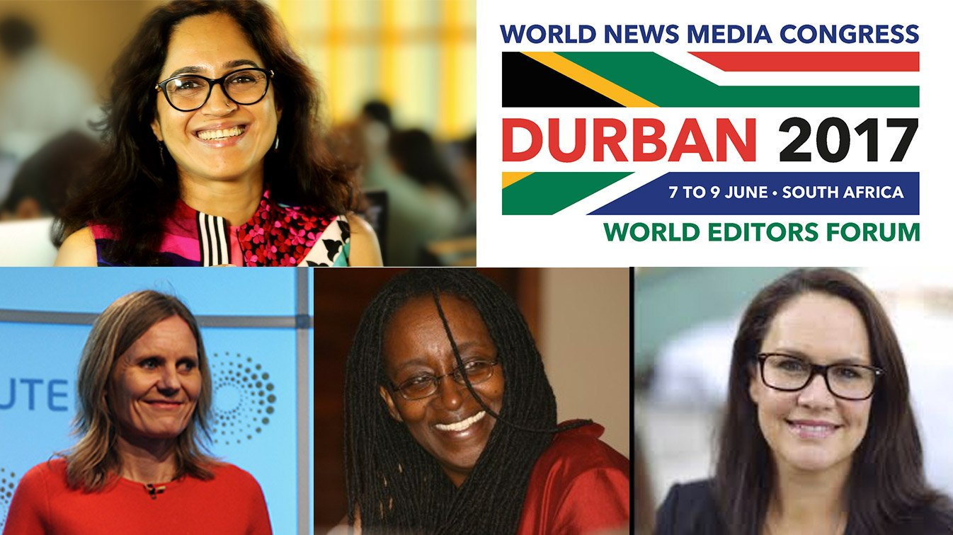 First Global Women in News Summit to be held in association with World News Media Congress in Durban