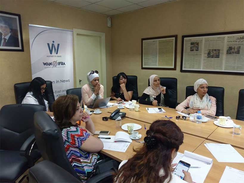 WAN-IFRA organizes a National Gathering for WIN participants in Jordan