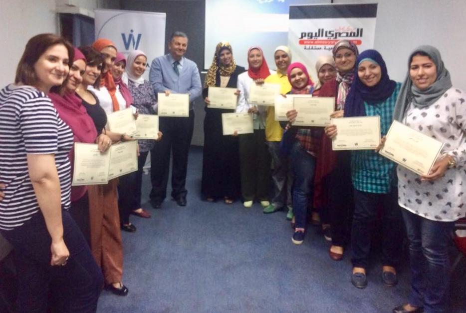 WAN-IFRA Organizes its Second Training for Al-Masry Al Youm Newspaper