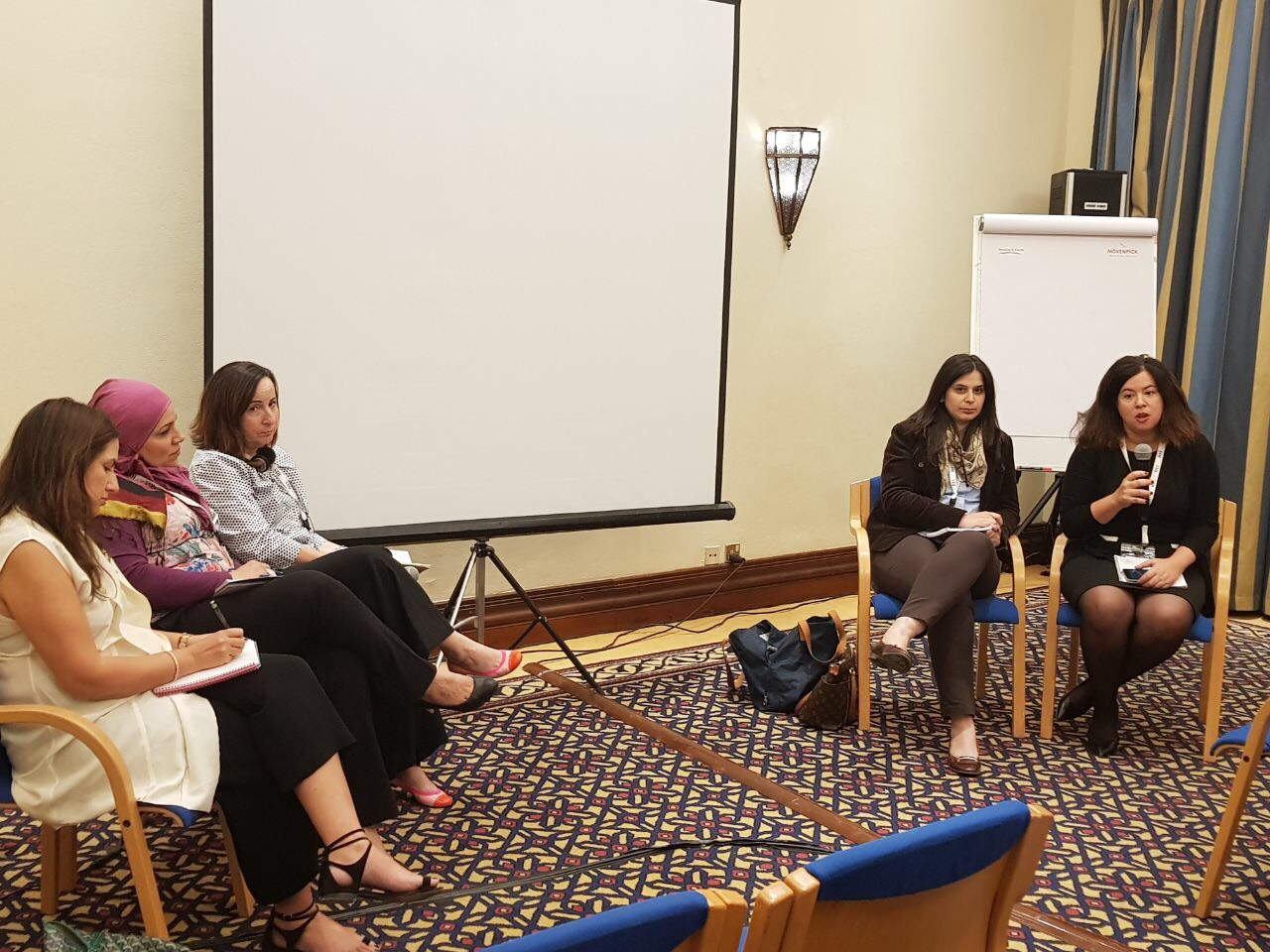 WIN hosts panel of sexual harassment at ARIJ Forum in Jordan