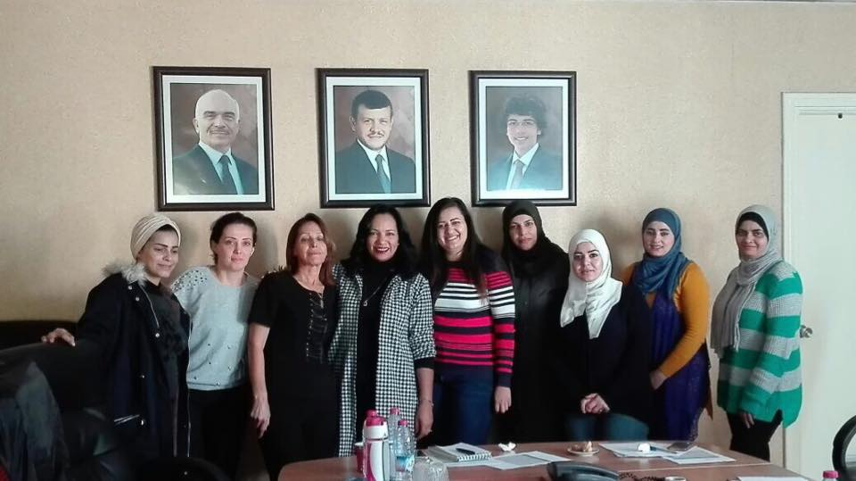 WIN hosts training sessions at Al Rai and Al Ghad newspapers in Jordan