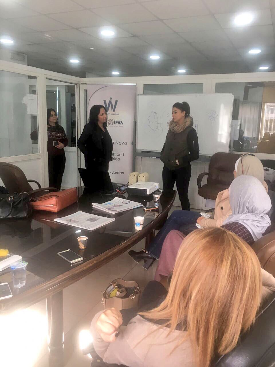 Training for Al Rai newspaper journalists