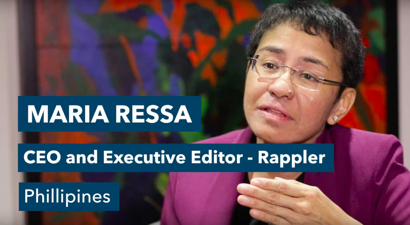 Case Study: Change Management - Maria Ressa
